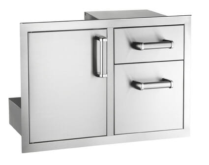 Flush Mounted Doors and Drawers